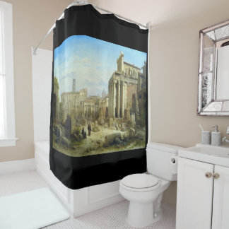 Ruins of Forum at Rome Shower Curtain