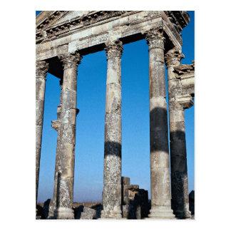 Ruins of important city, Apamea, Syria Postcard