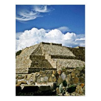 Ruins Of Monte Alban, Near Oaxaca Postcard
