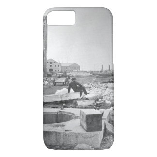 Ruins of Norfolk Navy Yard. December 1864. James iPhone 7 Case