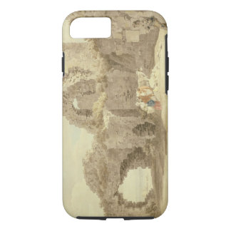 Ruins of Pevensey Castle (w/c on paper) iPhone 7 Case