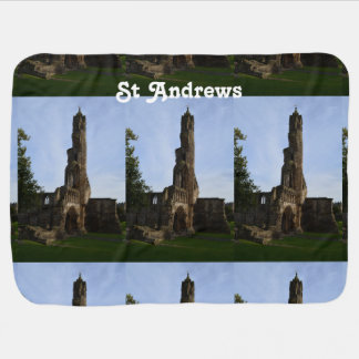 Ruins of St Andrews Baby Blankets
