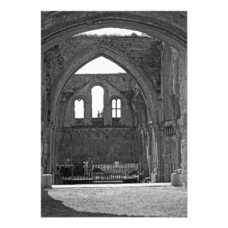 Ruins of the old fortress photo print