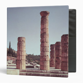 Ruins of the Temple of Apollo 3 Ring Binders
