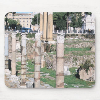 Ruins of the Temple of Castor and Pollux, Italy Mouse Pad