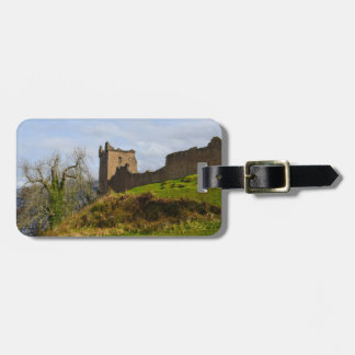 Ruins of Urquhart Castle along Loch Ness, Scotland Luggage Tag