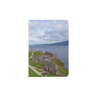 Ruins of Urquhart Castle along Loch Ness, Scotland Passport Holder