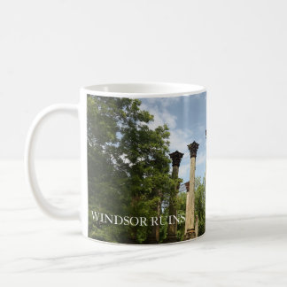 Ruins of Windsor Mississippi Coffee Mug