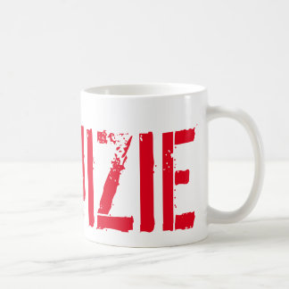 #RUIZIE 11oz Coffee Mug - Red