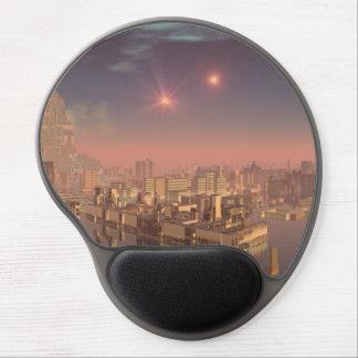 Rujjipet Alien City with Binary Suns Gel Mouse Pads