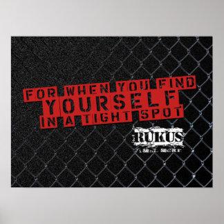 RUKUS Fight Gear Poster