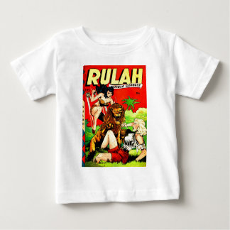 Rulah and a Big Scary Lion Baby T-Shirt
