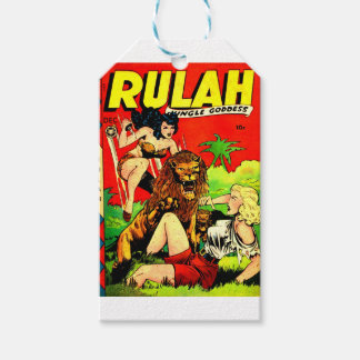 Rulah and a Big Scary Lion Gift Tags