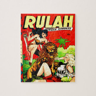 Rulah and a Big Scary Lion Jigsaw Puzzle