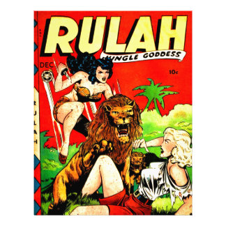 Rulah and a Big Scary Lion Letterhead