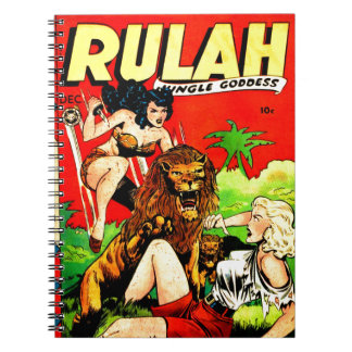 Rulah and a Big Scary Lion Notebooks