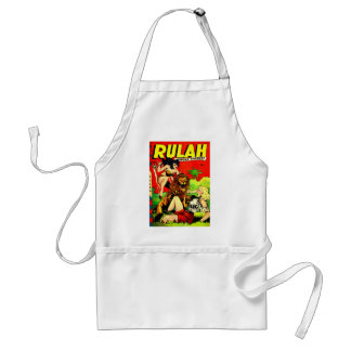 Rulah and a Big Scary Lion Standard Apron