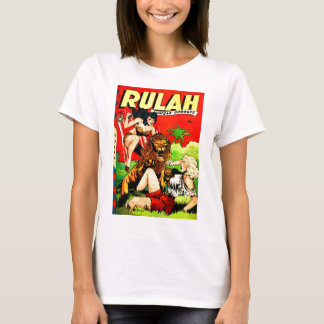 Rulah and a Big Scary Lion T-Shirt