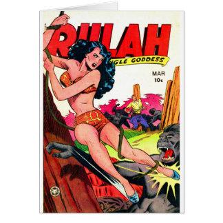 Rulah and the Big Ape Card
