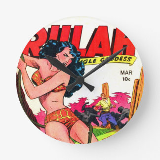 Rulah and the Big Ape Round Clock