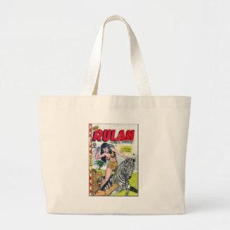 Rulah, Jungle Goddess Large Tote Bag