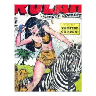 Rulah, Jungle Goddess Letterhead Template