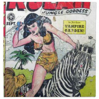 Rulah, Jungle Goddess Napkin