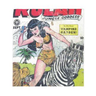 Rulah, Jungle Goddess Notepad