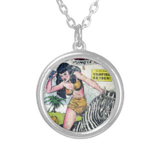 Rulah, Jungle Goddess Silver Plated Necklace