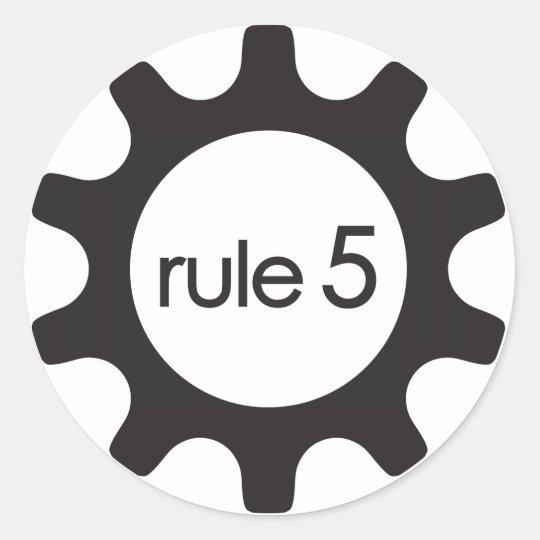 Rule5 Icon Sticker