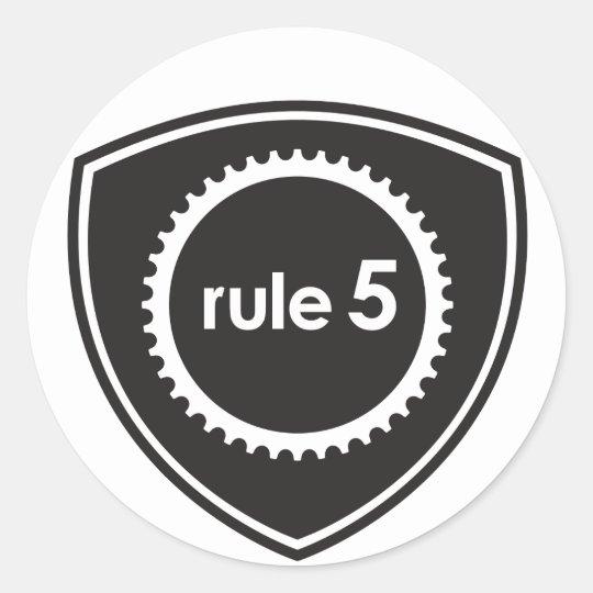 Rule5 Shield Stickers