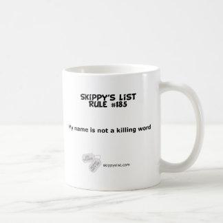 Rule #185 mug