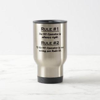 Rule 911 Operator Travel Mug