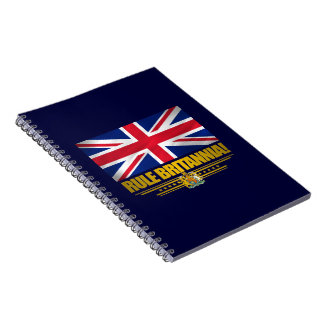 Rule Britannia! Notebooks