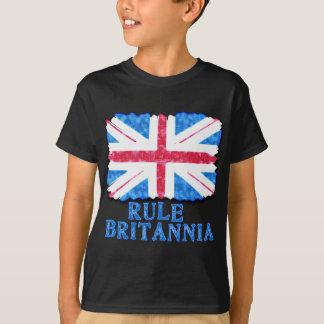 RULE BRITANNIA with Union Jack Tshirts