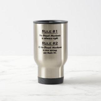 Rule Diesel Mechanic Travel Mug