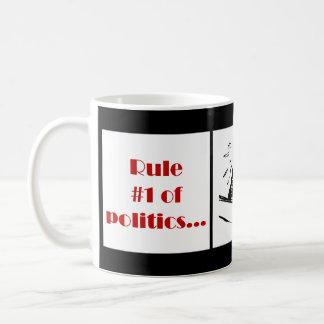 Rule Number 1 of Politics Coffee Mug