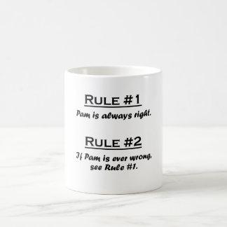 Rule Pam Coffee Mug