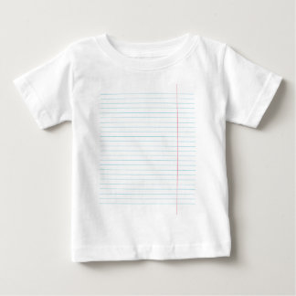 RULED LINED PAPER BABY T-Shirt