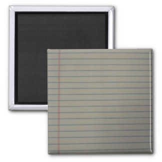 Ruled Paper Magnet