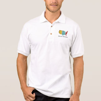"""Rules for Americans"" USA Logo Men's Polo Shirt"
