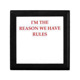 RULES GIFT BOX