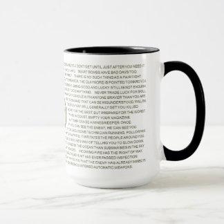 Rules of Combat Mug