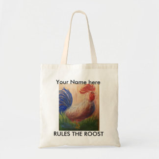 RULES THE ROOST BAG PERSONALIZED