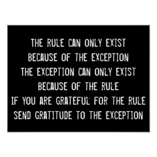 Rules Wisdom Quote, Inspirational Poster