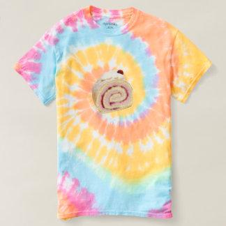 Rullekake swirl tie dye t-shirt men