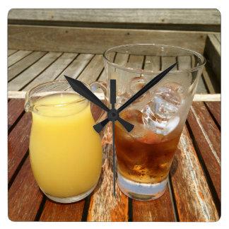 Rum and Pineapple Clocks
