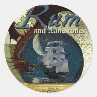 Rum and Runestone Paper Products Classic Round Sticker