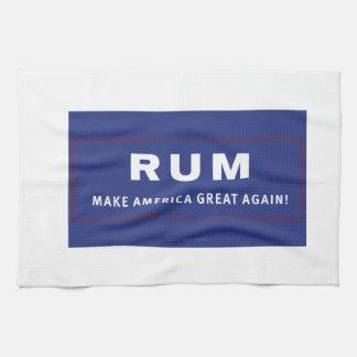 Rum Make America Great Again Hand Towels