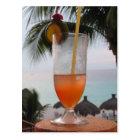 Rum Punch Drink Postcard